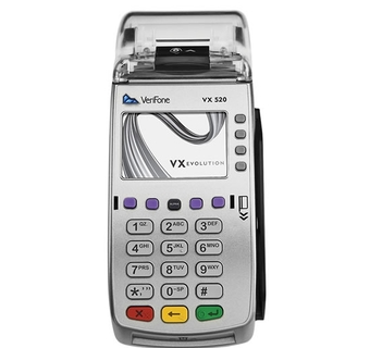 VeriFone VX 520 CTLS Ethernet (стационарный, подключение по локальной сети)
